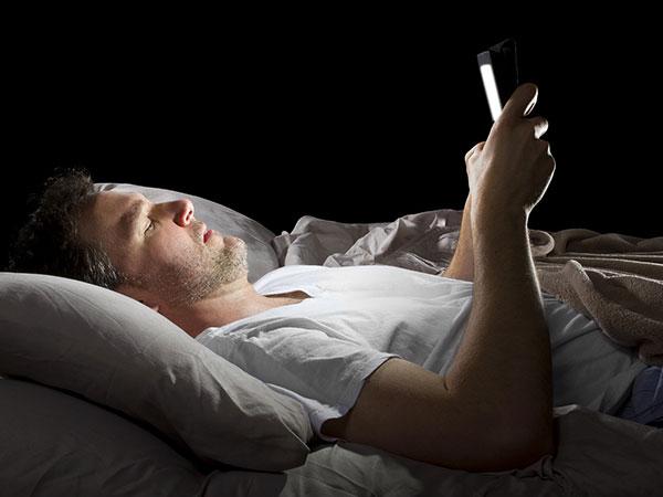sonno e cellulare